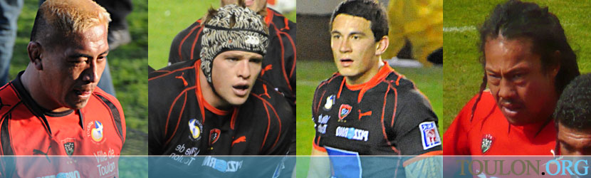 Collins, Van Niekerk, Williams, Umaga