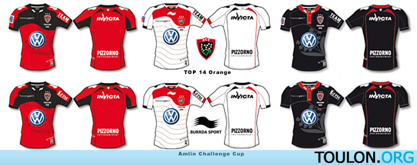 Maillots du RCT